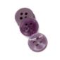 现货供应 巴顿钮扣 紫色 圆形四孔纽扣 树脂纽扣